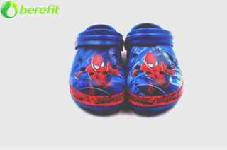 Zuecos de EVA estampados Spider Man Boys